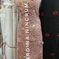Kain Brukat Nagita New Design/Bahan Brokat Nagita New Design/Kebaya