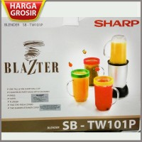 Mini Blender Shake and Take Sharp Blazter SB-TW101P - S Murah