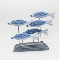 harga Smescotrade Pajangan 5 Ikan Stik Warna Biru Putih Tokopedia.com