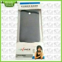 POWER BANK ADVANCE P13-5800 MAh (slim) bateray POLYMER ORIGINAL