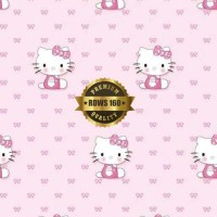 Jual Wallpaper Sticker DInding Hello kitty 160 Murah