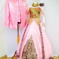 Couple Kebaya Pengantin Model Gaun Muslim Modern Murah
