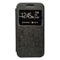 Zagbox Flip Cover Samsung Galaxy G110H/pocket 2 - Hitam