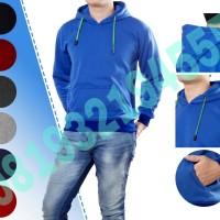 Jual jaket hoodie polos tanpa resleting Murah