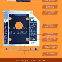 HDD Caddy untuk Laptop HP Pavilion G7-2240US