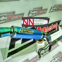 Knalpot Vespa Matic (Modern Vespa) FDR Racing 3V LX/S/Prmavera/SPrint