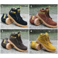 sepatu caterpillar MIDDLE safety boots