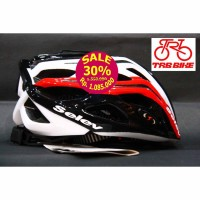 HELMET SELEV MP3 Black/Red/White