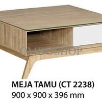 Meja Tamu / Coffe Table Agusto CT 2238 free ongkir jabodetabek