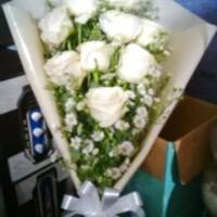 Jual Hand Bouquet / Buket Bunga Wisuda / Buket Bunga / Bunga Mawar Murah