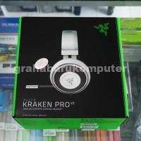 Razer Kraken Pro V2 White Gaming Headset for PC Xbox One PS4 Putih
