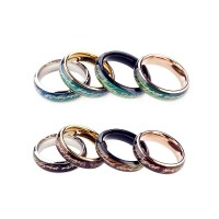 Mood Ring Titanium Black Mood Ring Couple Ring Cool Cincin Couple