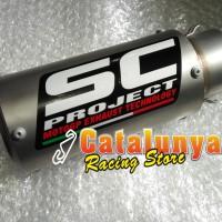 harga Knalpot Racing Yamaha Er6n Sc Project Gp Cr-t Titanium Sandblasting Tokopedia.com