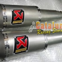 harga Knalpot Racing Yamaha Er6n Akrapovic Gp M1 Sandblasting Titanium Tokopedia.com