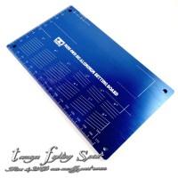Rep Tamiya 95201 Mini 4WD HG Aluminum Setting Board -Deep Blue -TL1302