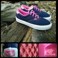 Grosir sepatu vans era navy pink for woman Murah Terbaru