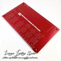 Rep Tamiya 95201 Mini 4WD HG Aluminum Setting Board -Red -TL1303