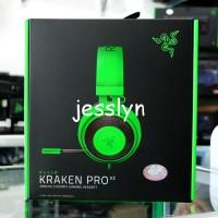 Jual Razer Kraken Pro V2 Green Gaming Headset for PC Xbox One PS4 Hijau Murah