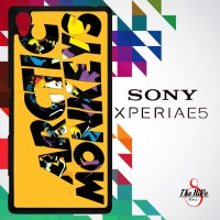 Arctic Monkeys Logo Orange Background 0188 Casing for SONY Xperia E5 H