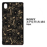 Coffee Addict Between Coffe and Apple 0169 Casing for SONY Xperia M4 A