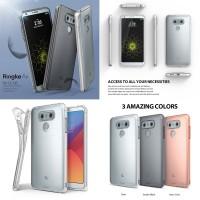 Rearth Ringke Air LG G6 TPU Soft Case Dust Cap Ultra Thin