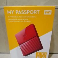 Jual WD My Passport 2017 ULTRA New Design 1TB /USB 3.0/2.5 Inch - Red Murah