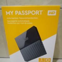 Jual WD My Passport 2017 ULTRA New Design 1TB /USB 3.0/2.5 Inch - Black Murah