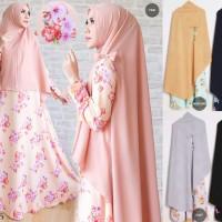 Baju gamis wanita dan setelan Hijab Bergo muslimah