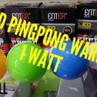 harga Lampu Led Tidur Pingpong 1 Watt Warna Tokopedia.com