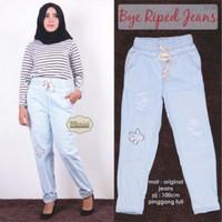 TERLARIS TERMURAH TERLARIS Bye riped jeans