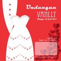 Undangan Pernikahan Softcover Lely & Afan - Indramayu