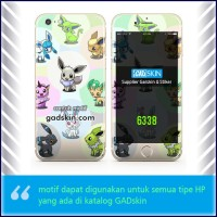 Garskin HP gambar Pokeman Go Wallpaper stiker