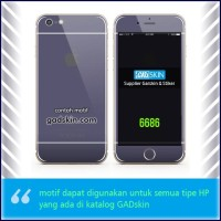 Garskin HP gambar neavy - Iphone motif for all series handphone stiker