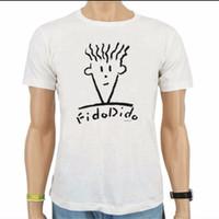 [L&P] Kaos /T-Shirt Fido Dido White
