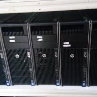 Server WORKSTATION 2ND HP Z620 XEON Dobel E5-2609 VGA 1GB 1TB 16GB