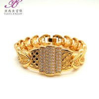 harga Gelang Plat Lapis Emas Motif Permata Perhiasan Imitasi 18k Yaxiya 431 Tokopedia.com