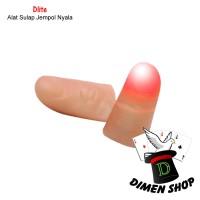Dlite | Alat Sulap | Jempol Nyala | Lampu | Stage Magic | Dimen Shop