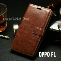 Luxury Wallet Case For Oppo F1 / Oppo A35 Flip Cover Leather Case