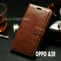 Luxury Wallet Case For Oppo A39 / Flip Cover Leather Case Oppo A39