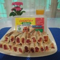 Jual Kebab Frozen Halal MUI isi 10 pcs Champion Kebab Murah