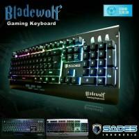keyboard gaming sades bladewolf RGB