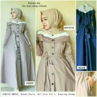 busana muslim/baju wanita/gamis muslimah/fariza/tunik blouse/atasan