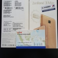 HP ASUS ZENFONE 3 MAX ZC553KL RAM 3GB INTERNAL 32GB GARANSI RESMI