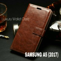 Luxury Wallet Case Samsung A5 (2017) Flip Cover Leather Case A5 2017