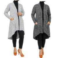 harga Tunik Cardigan Long Cardi Bahan Kaos Model Pinguin Tokopedia.com