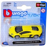 Diecast Bburago 1:64 - Lamborghini Aventador LP 700-4 Kuning