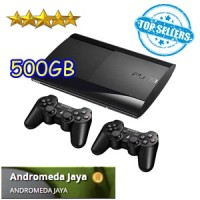 Sony PS 3 PS3 Playstation 3 Super Slim 500GB isi Games Original