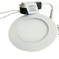 Jual Downlight LED Panel Tipis 6W Round / Bulat Murah