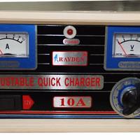EXCLUSIVE Charger Aki 10 Ampere OTOMATIS Merk RAYDEN TERMURAH