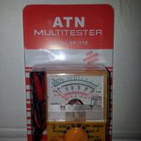 EXCLUSIVE TESTER MINI / AVOMETER / MULTITESTER MINI MERK ATN TYPE SP110